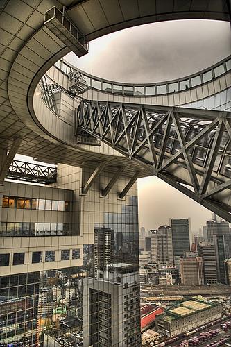 Umeda Sky Building. Osaka, Hiroshi Hara & Atelier