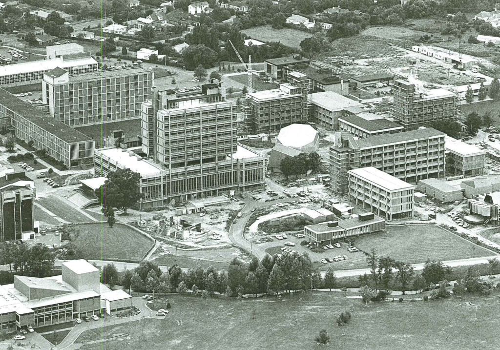 Aerial view - March 1975