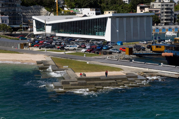 My favourite modernist building freyberg pool for Pool design new zealand