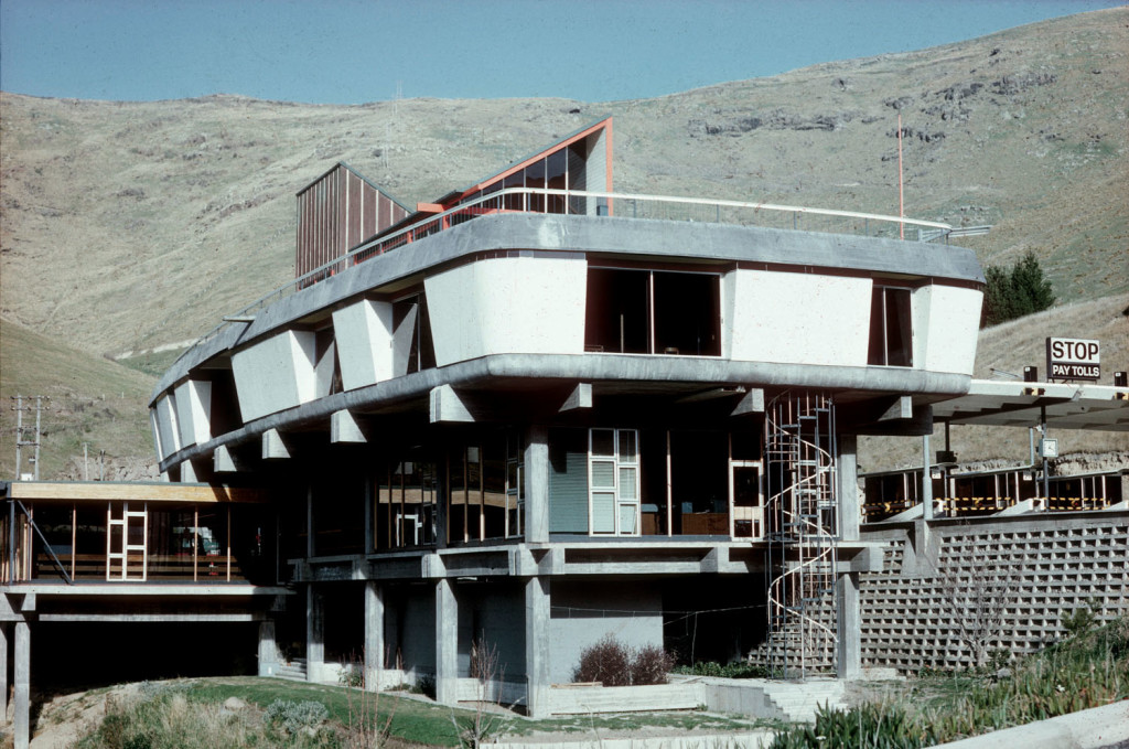 Lyttelton Tunnel Building from north c. 1964